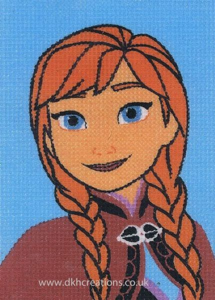 Disney Frozen Anna  Tapestry Kit